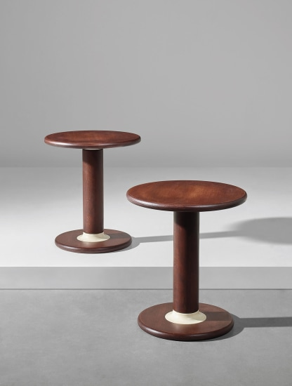 Pair of 'Rocchettone' side tables, model no. T. 44