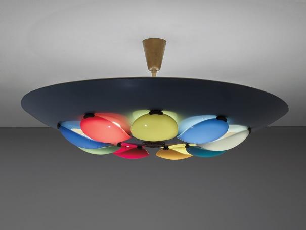Rare ceiling light, model no. 12452