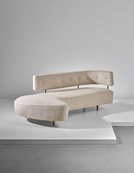Rare sofa, designed for the 'Prima Mostra Selettiva', Cantù