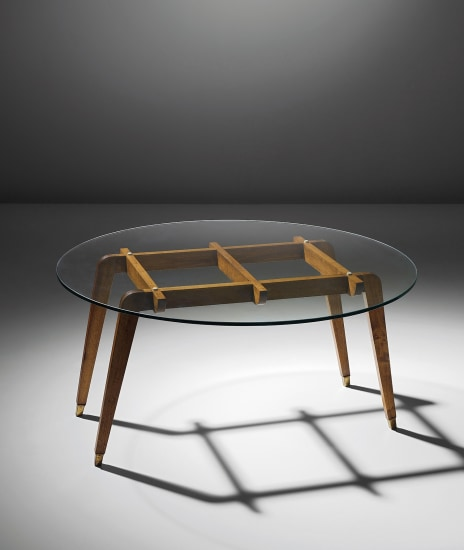 Rare coffee table, designed for the Apartment F., Milan