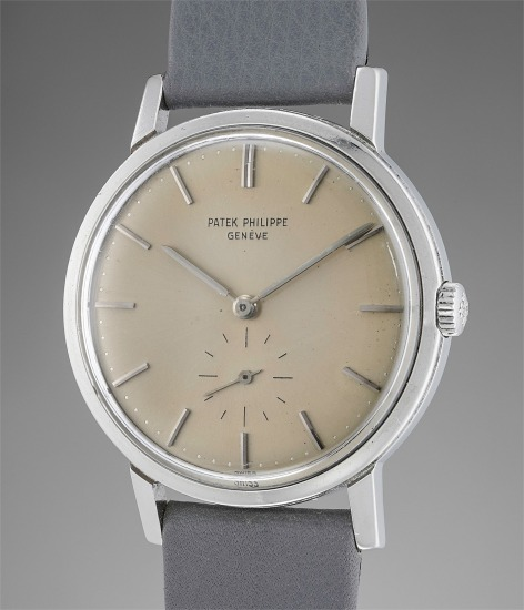 A rare, attractive and well-preserved stainless steel wristwatch