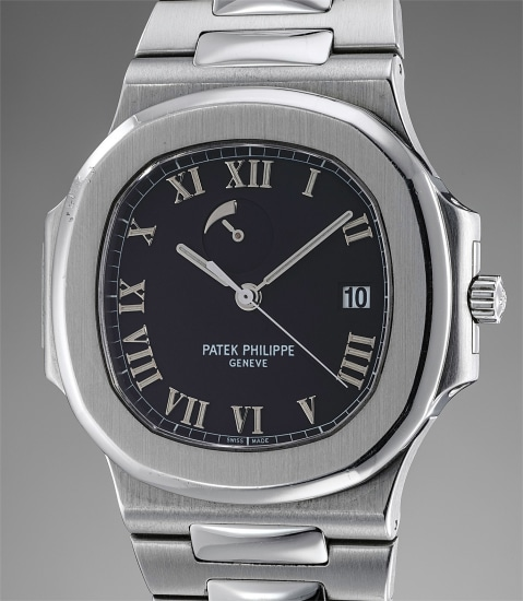 A very attractive stainless steel wristwatch with date, power reserve, bracelet, certificate of origin and presentation box
