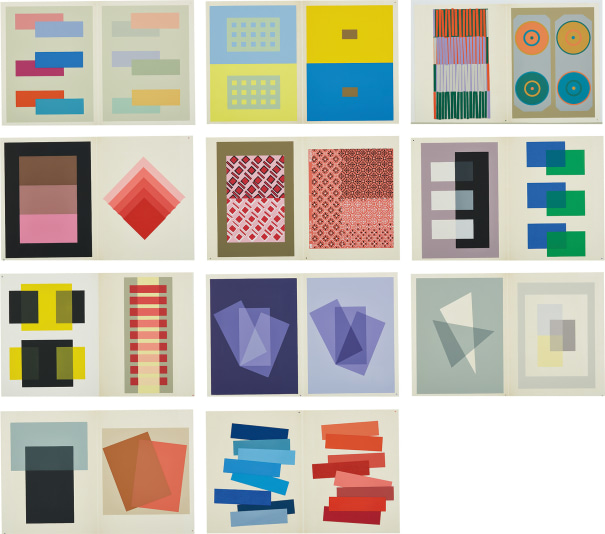Josef Albers Interaction Of Color Phillips