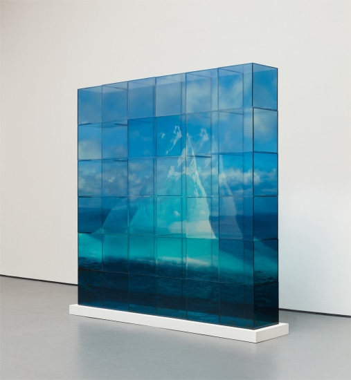 Quiet Ice (Blue)