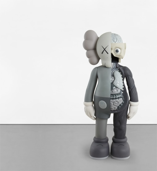 best loved 627fa acb14 KAWS - FOUR FOOT DISSECTED COMPANION (Grey), 2009 | Phillips