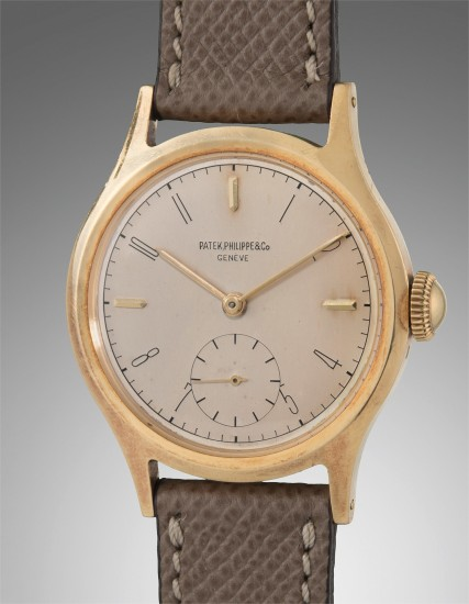 A fine and very attractive yellow gold wristwatch