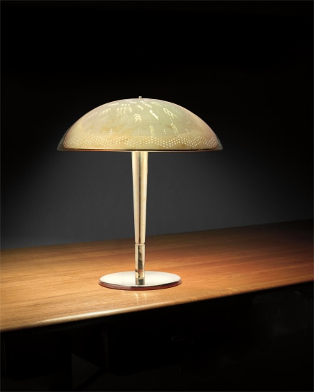 Early table lamp, model no. 5061
