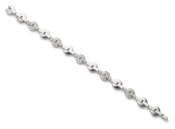 A Gold and Diamond 'Himalia' Bracelet