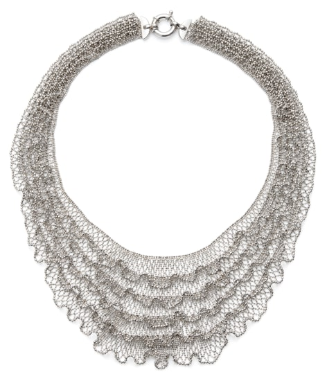 A Platinum Necklace