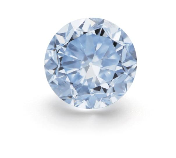 An Important Fancy Intense Diamond