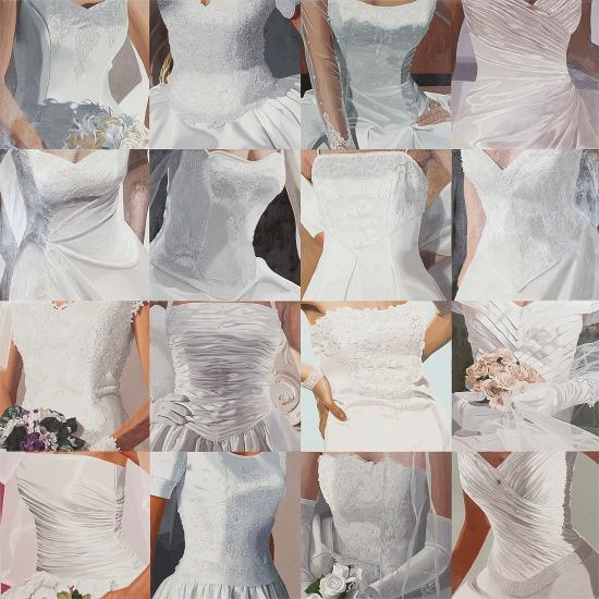 White on White (Sixteen Wedding Dresses) III