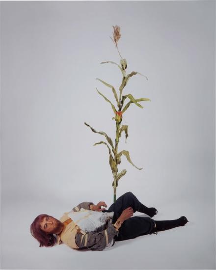 Male Colonist (with cornstalk)