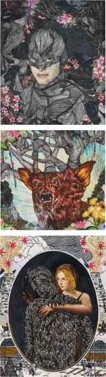 Three works: (i) The Genesis (ii) Sub-Creation (iii) Trees Breathe Here