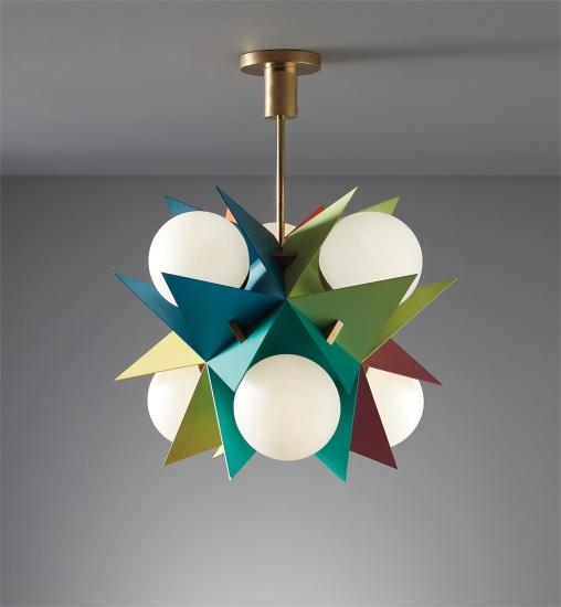 Rare ceiling light, model no. 12776
