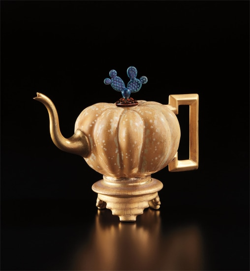 """Squash"" teapot"