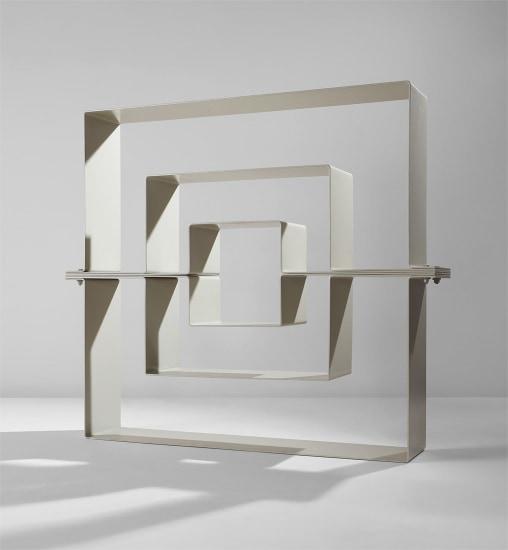 "Prototype ""Labirinto"" bookshelf"