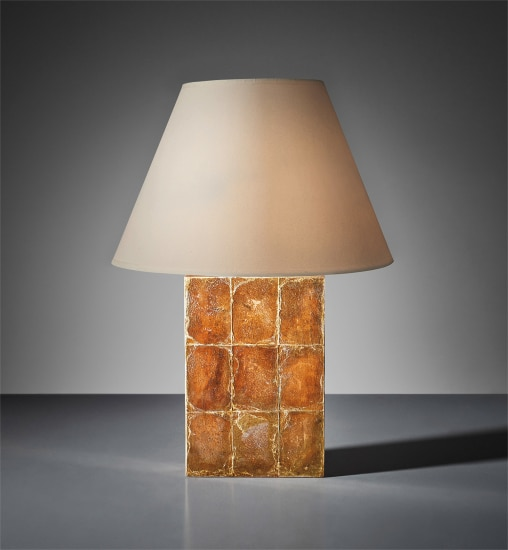 "Large ""Block"" table lamp"