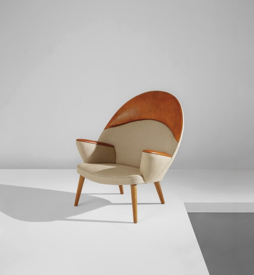 """Peacock"" easy chair, model no. JH521"