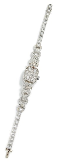 A Diamond Watch