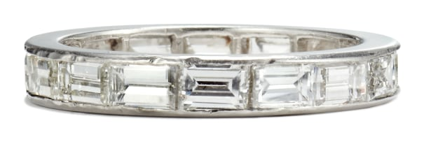 A Diamond Eternity Band Ring