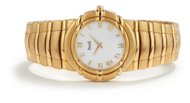 A Gold 'Tanagra' Watch