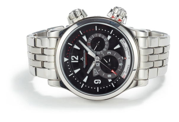 A Stainless Steel 'Master Compressor Geographic' Watch