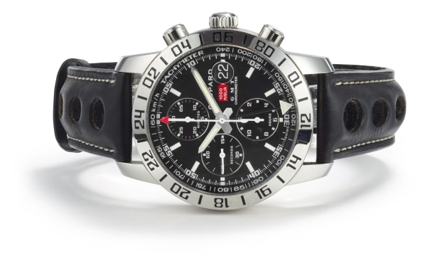A Stainless Steel 'Mille Miglia GMT Chronometer' Watch