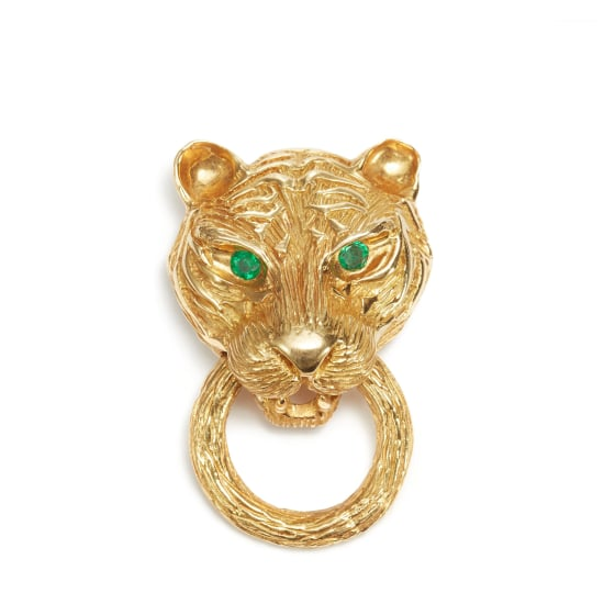 A Gold Brooch