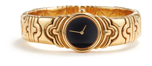 A Gold 'Parentesi' Watch, Bulgari