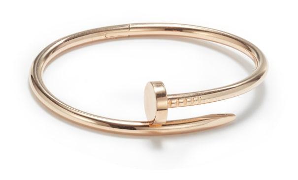 A Gold 'Juste un Clou' Bracelet