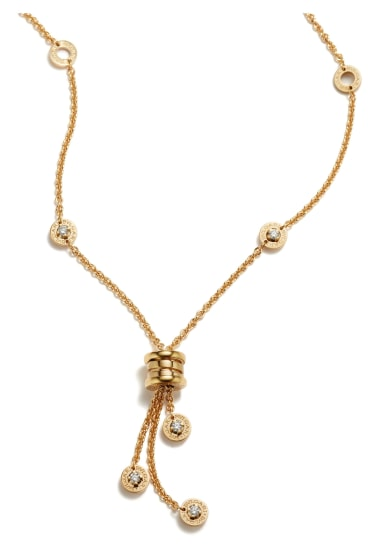 A Gold and Diamond 'Collana B. Zero' Necklace