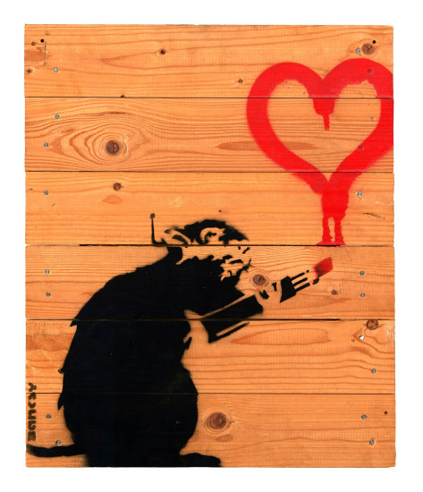 Love Rat on palette