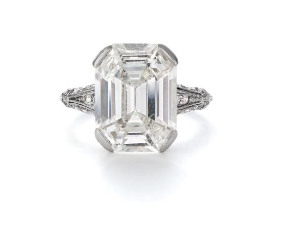 A Beautiful Belle Époque Diamond Ring