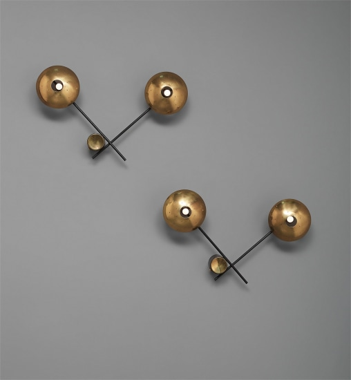 Pair of wall lights