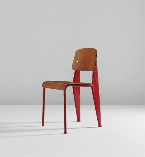 """Semi-metal"" chair, model no. 305"