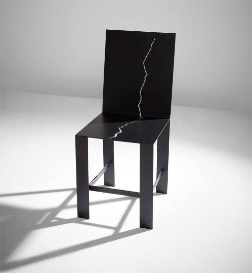 """""""Learning Her Lie"""" chair"""