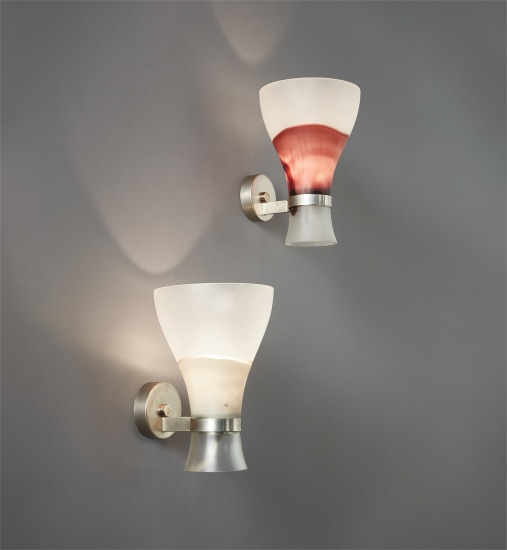 Pair of wall lights, model no. 802.5