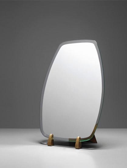 Rare table mirror