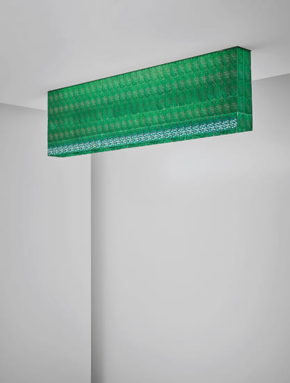 Unique ceiling light, designed for a private commission, London