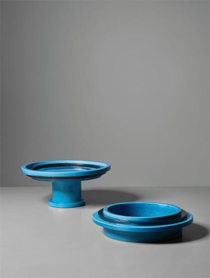 Fruit dish, model no. 606 and rare ashtray