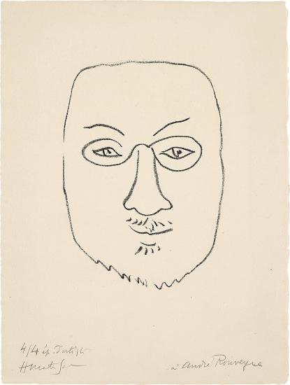 Henri Matisse, Masque (Mask)