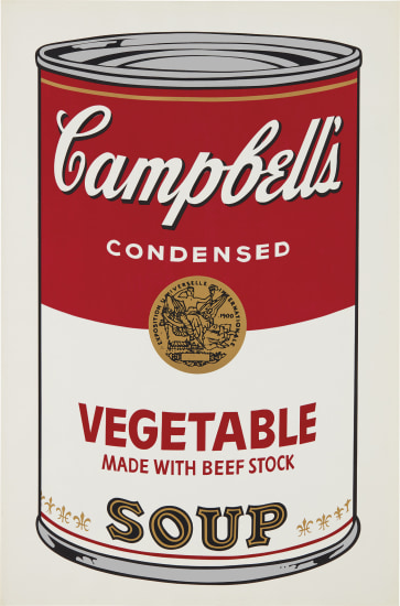 Vegetable, from Campbell's Soup I