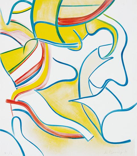 Quatre Lithographies (Four Lithographs): one plate