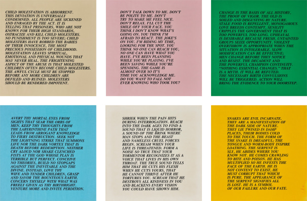 Inflammatory Essays: 25 works