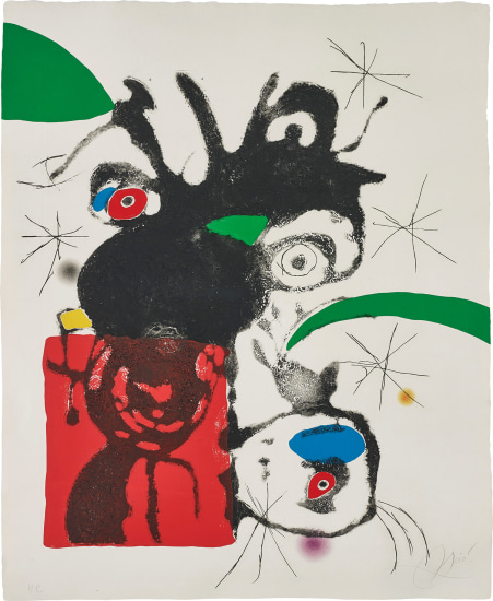 Untitled, plate 5 from Espriu - Miró