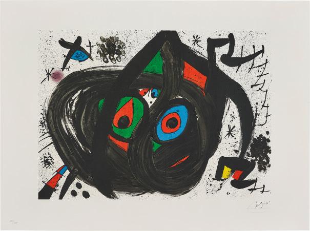 Untitled, plate 5 from Homenatge à Joan Prats (Tribute to Joan Prats)