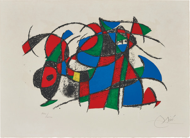 Joan Miró Lithographs II: one plate