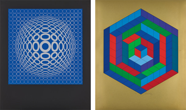 Réponses a Vasarely (Responses to Vasarely)