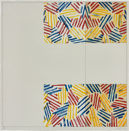#2 (after 'Untitled 1975'), from 6 Lithographs (after 'Untitled 1975')