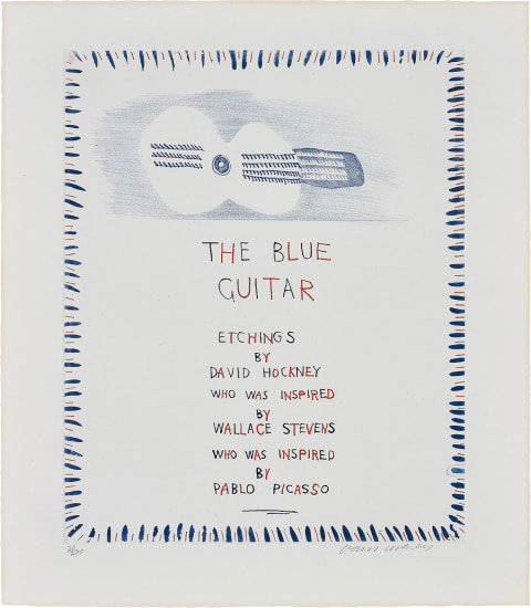 The Blue Guitar, from The Blue Guitar